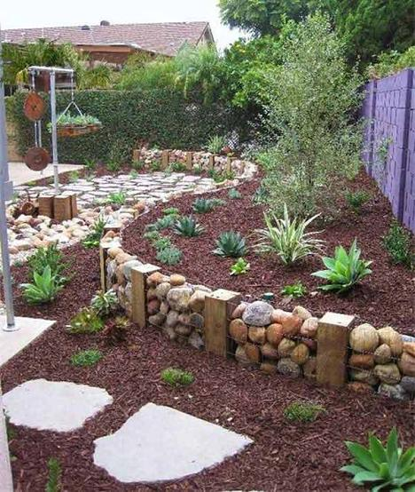 Trang%20tri%20san%20vuon%20voi%20Soi%20 %20Da%202 Chia sẻ những ý tưởng trang trí sân vườn độc đáo với Sỏi và Đá (P1)