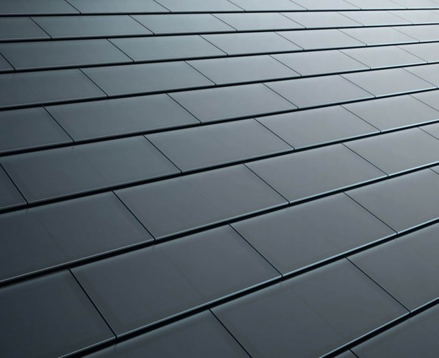 Mái ngói pin mặt trời mang màu sắc khác nhau
