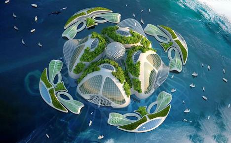 Chiêm ngưỡng những dự án kiến trúc không tưởng của tương lai