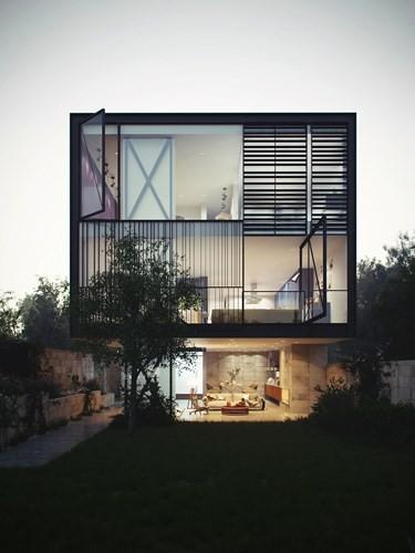 vlxd org kinh1 - Thiết kế nhà bằng kính đẹp không chê vào đâu được