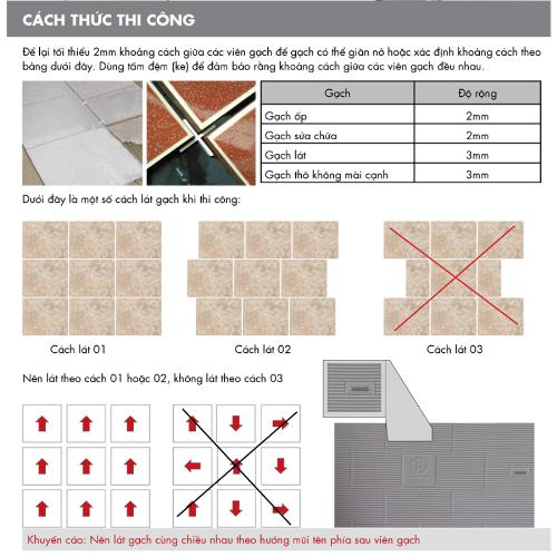 vlxd.org gachoplat1 - Ốp lát gạch đúng cách và đat độ bền cao